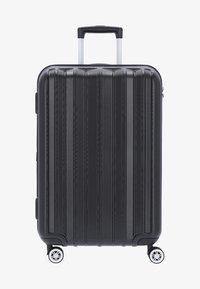 Stratic - PILLAR - Wheeled suitcase - black - 0