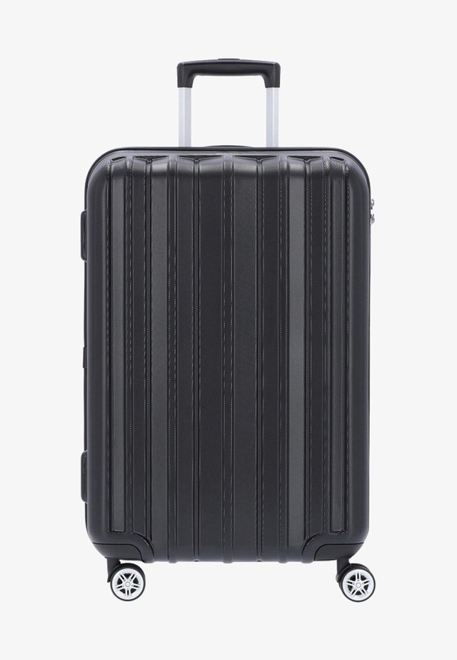 PILLAR - Wheeled suitcase - black