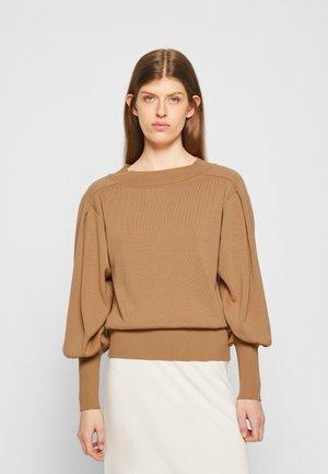 SWEATER - Stickad tröja - beige