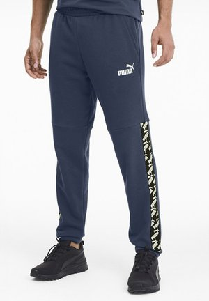 AMPLIFIED  - Tracksuit bottoms - dark denim