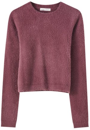 Jumper - mottled pink