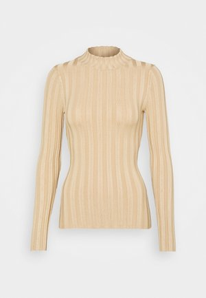 WIDE RIB JUMPER - Trui - sand