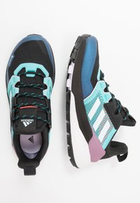 adidas Performance - TERREX TRAILMAKER GORE-TEX  - Løpesko for mark - core black/sky tint/purple tint - 1
