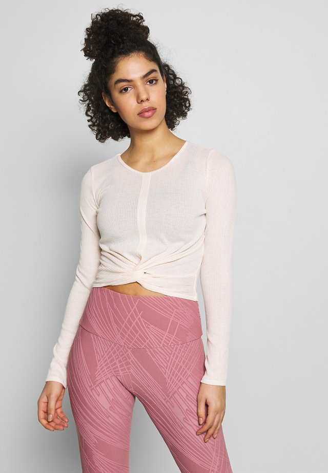 TWIRL  - Long sleeved top - blush