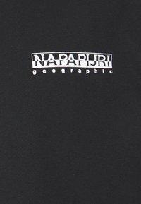Napapijri The Tribe - PASILAN UNISEX - Long sleeved top - black - 2