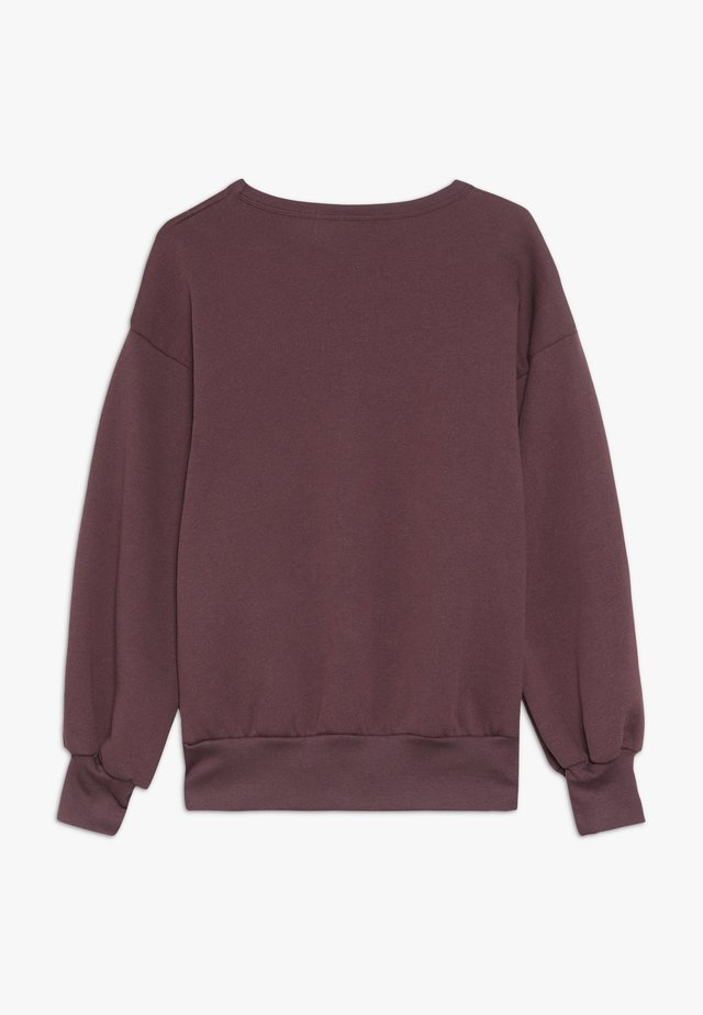 GIRL - Collegepaita - plum purple
