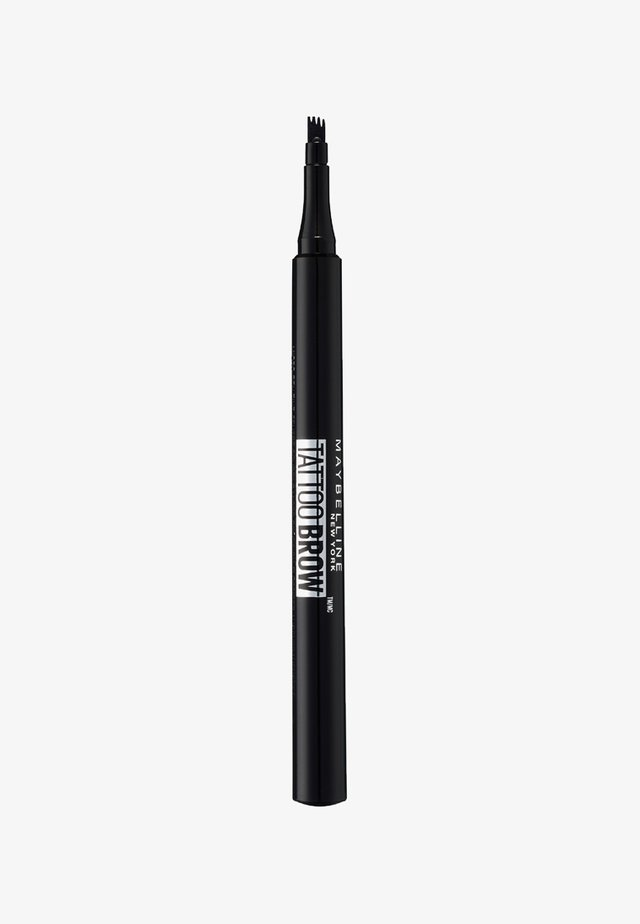 TATTOO BROW EYEBROW PENCIL - Eyebrow pencil - 130 deep brown