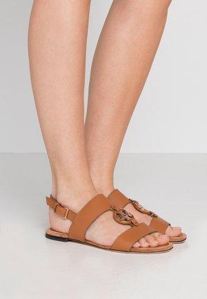 METAL MILER TWO BAND  - Sandals - tan/rose gold
