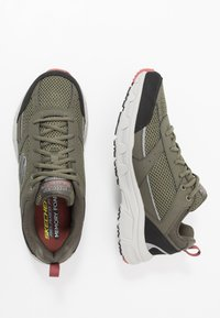 Skechers - OAK CANYON - Trainers - olive/black - 1