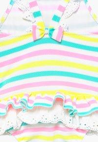 Sunuva - STRIPE BROIDERIE SWIMSUIT - Swimsuit - multi - 3
