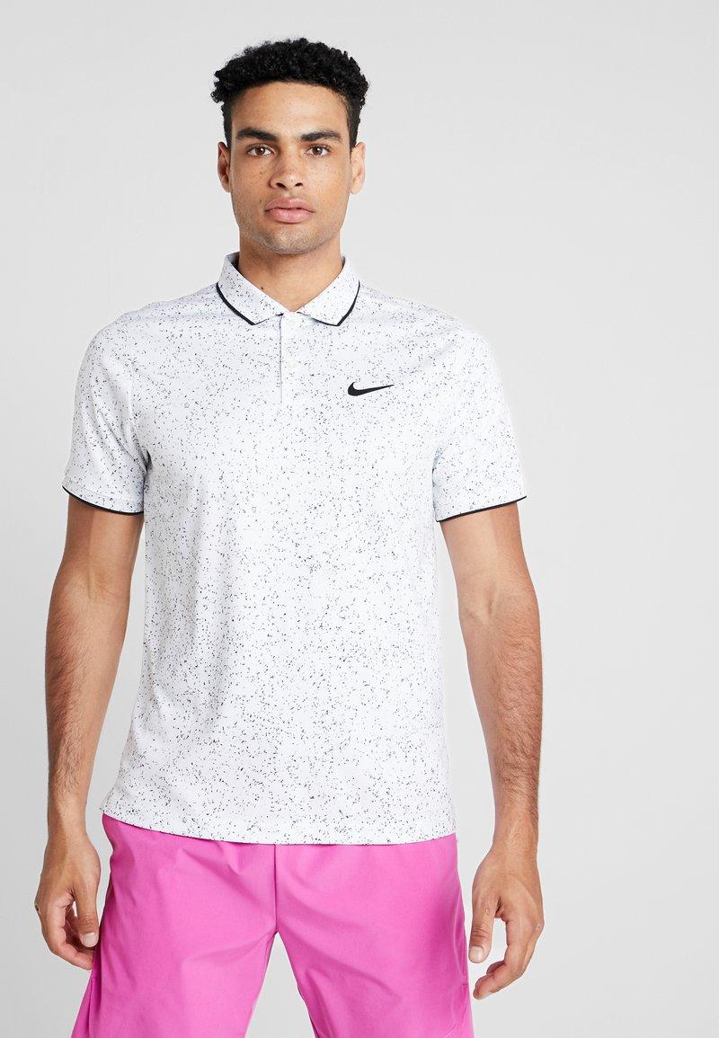 Nike Performance - Sports shirt - white/black