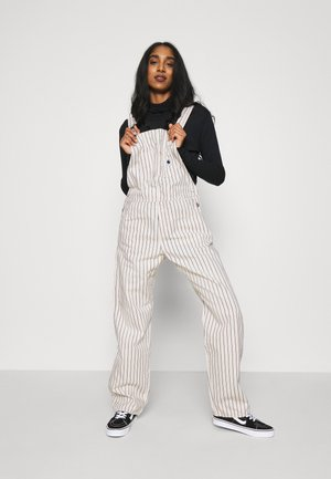 W' TRADE OVERALL - Dungarees - wax/black