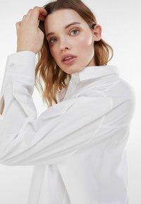 Bershka - Button-down blouse - stone - 3