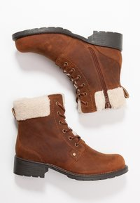 Clarks - ORINOCO DUSK - Lace-up ankle boots - tan - 3