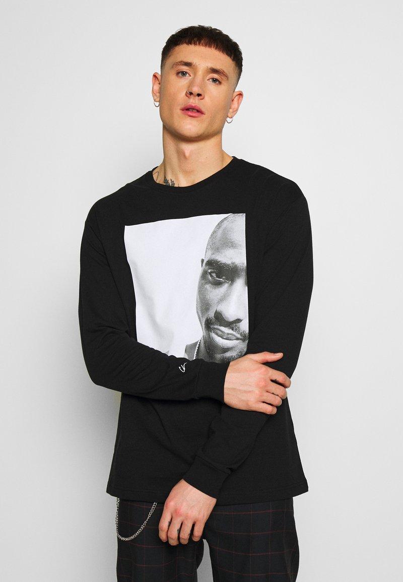 Chi Modu - REALITY - Top sdlouhým rukávem - black/white