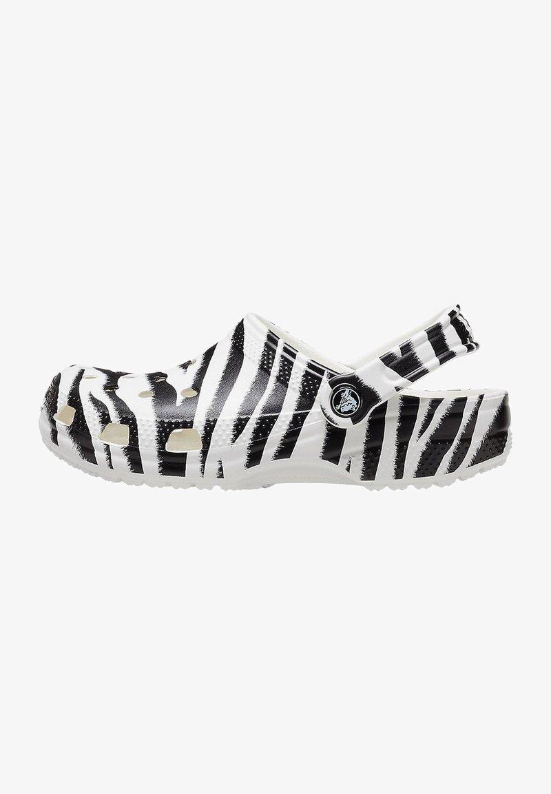 Crocs - ANIMAL PRINT  - Zoccoli - white / zebra print