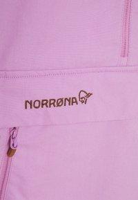 Norrøna - SVALBARD ANORAK - Veste coupe-vent - violet tulle - 2