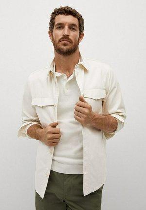 Košile - hellgrau/pastellgrau