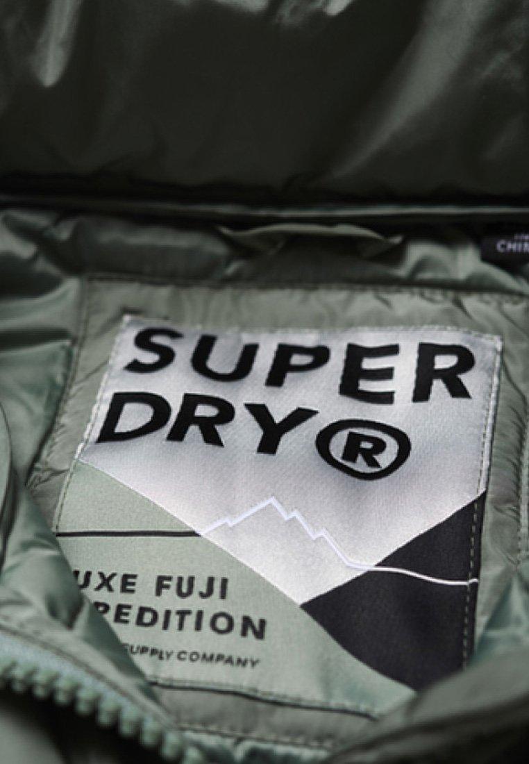 Superdry Übergangsjacke turquoise/khaki