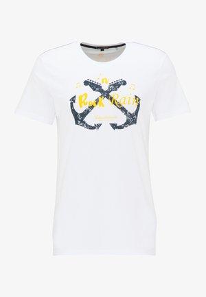 T-SHIRT - Print T-shirt - weiss