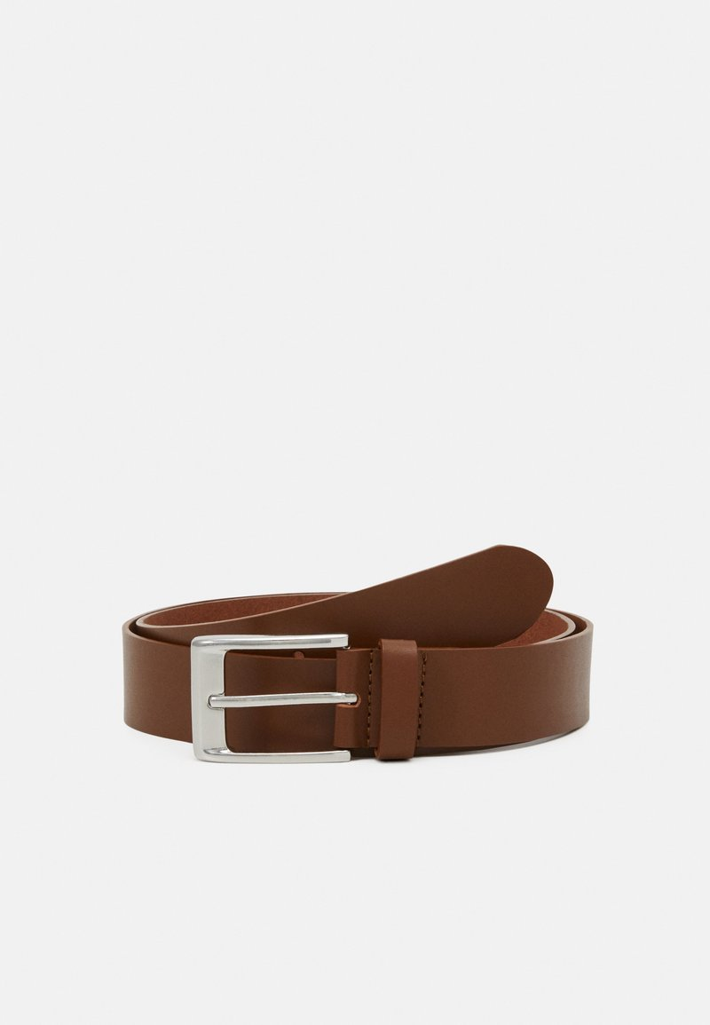 Pier One - LEATHER - Pasek - cognac