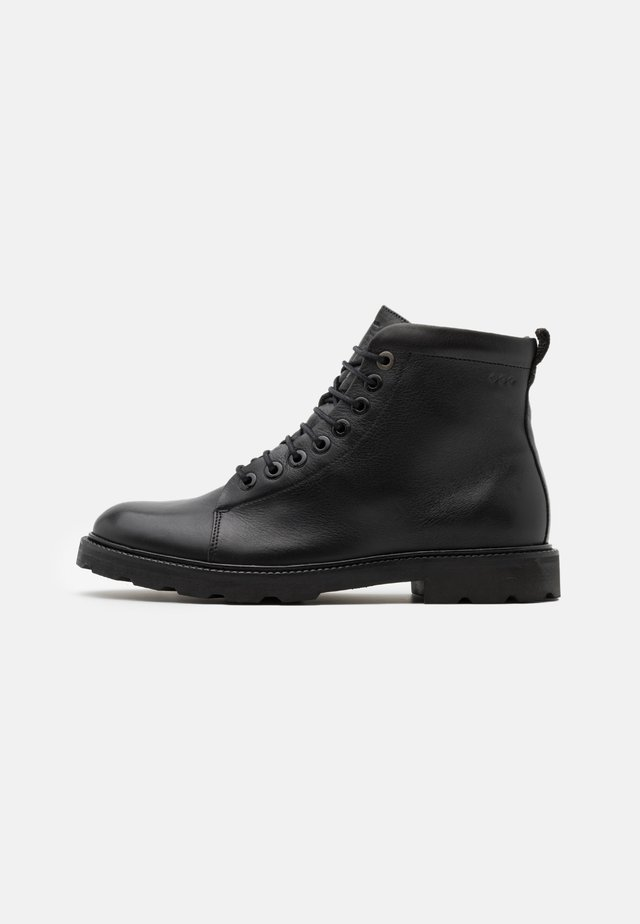 ALIAS HIKER HIGH CUT - Stivaletti stringati - black