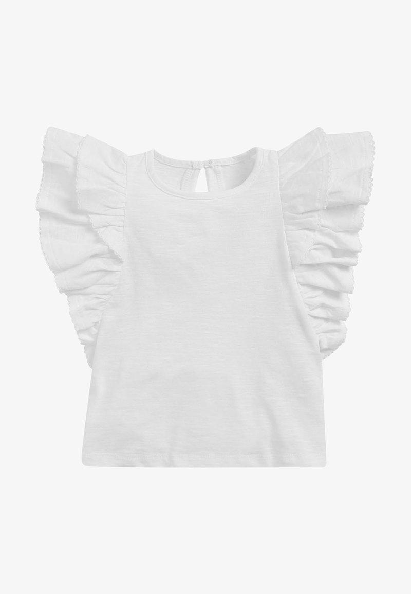 Next - FRILL - Print T-shirt - white