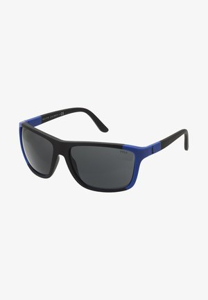 Sunglasses - royal blue/black