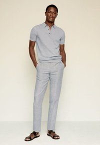 Mango - ANDREW - Poloshirt - medium heather grey - 1