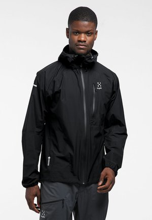 JACKET MEN - Hardshelljacka - true black