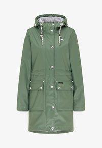 Schmuddelwedda - Waterproof jacket - oliv - 4
