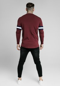 SIKSILK - TOURNAMENT TEE - Langarmshirt - wine - 2