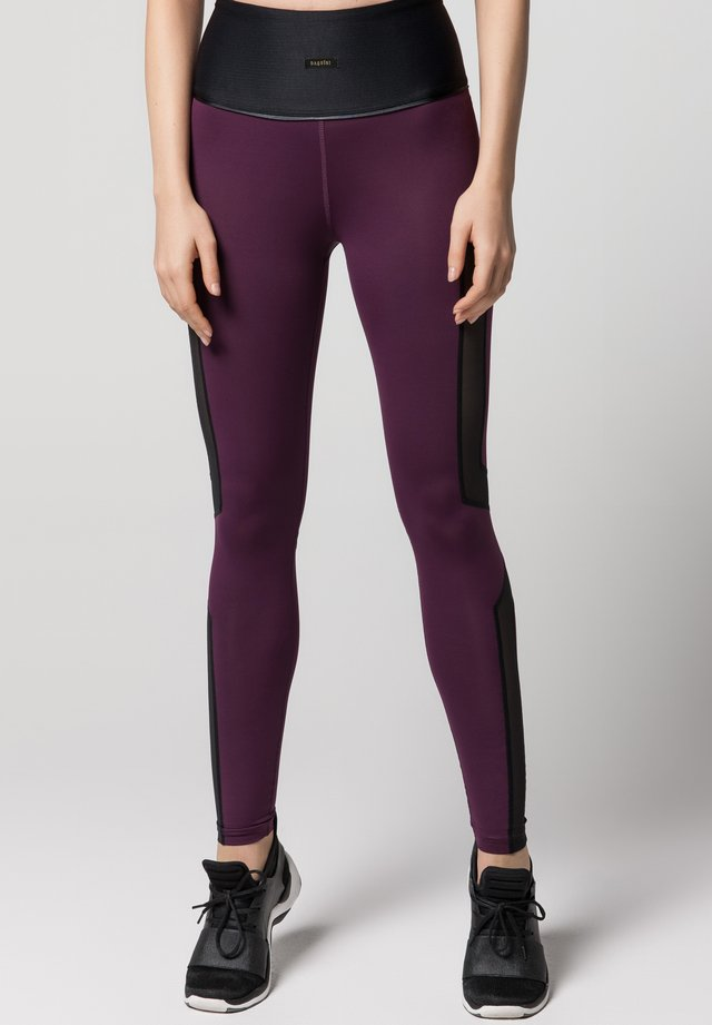 FLUXUS - Legging - mulberry