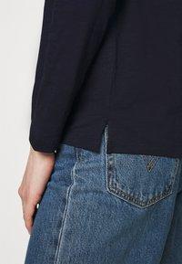 edc by Esprit - HOODY - Long sleeved top - dark blue - 5