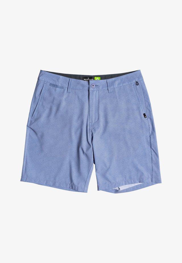 UNION HEATHER AMPHIBIEN - Sports shorts - stone wash