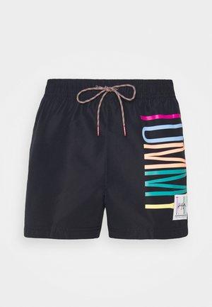 DRAWSTRING - Swimming shorts - blue