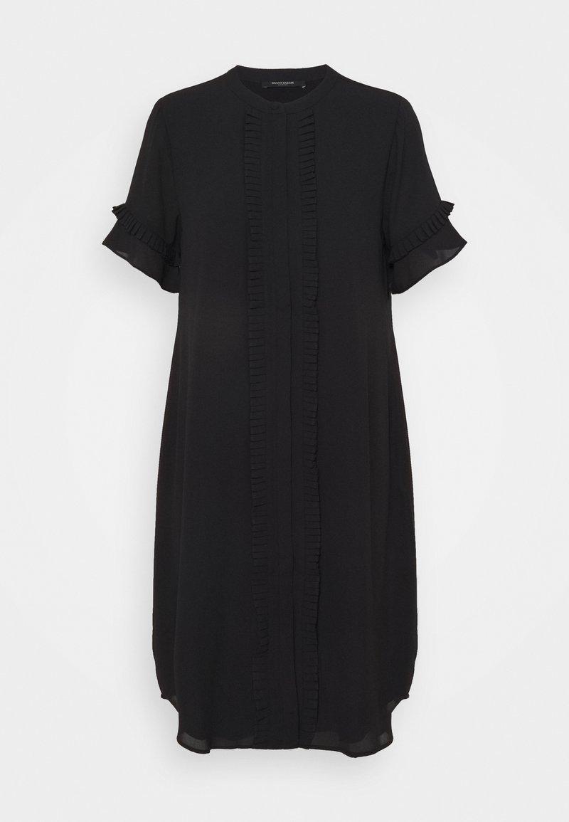 Bruuns Bazaar - CAMILLA MADSINE DRESS - Denní šaty - black