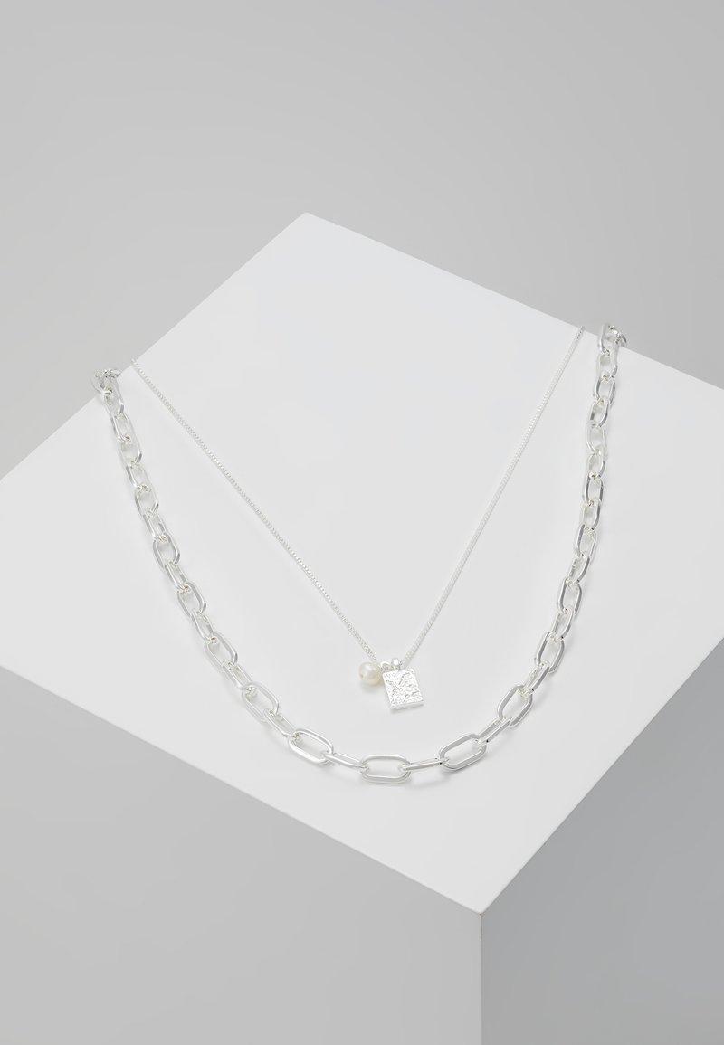Pilgrim - Necklace - silver-coloured