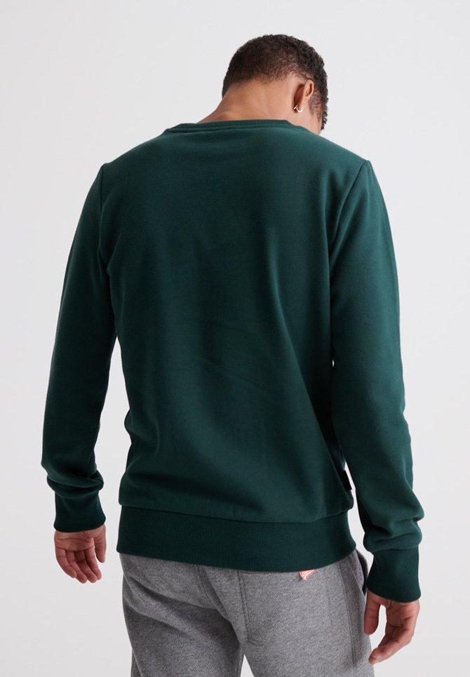Hurtig Levering Forudbestille Tøj til herrer Superdry Sweatshirts academy green 1eLPEJ 2vL9qg