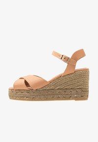 Castañer - BLAUDELL - Sandály na vysokém podpatku - salmon - 1