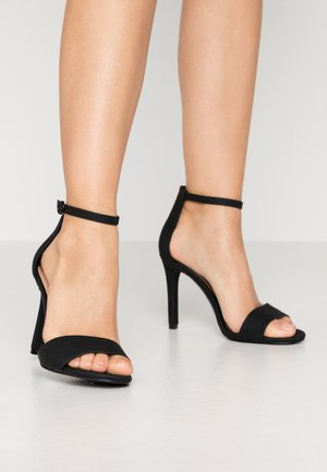 DELLMAR VEGAN - High heeled sandals - black