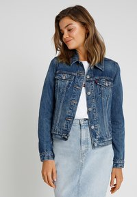 Levi's® - ORIGINAL TRUCKER - Denim jacket - soft as butter dark - 0