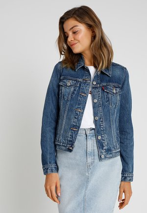 ORIGINAL TRUCKER - Veste en jean - soft as butter dark