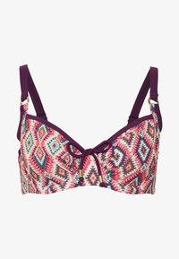 DORINA CURVES - TANZANIANON PADDED - Bikinitop - pink - 4