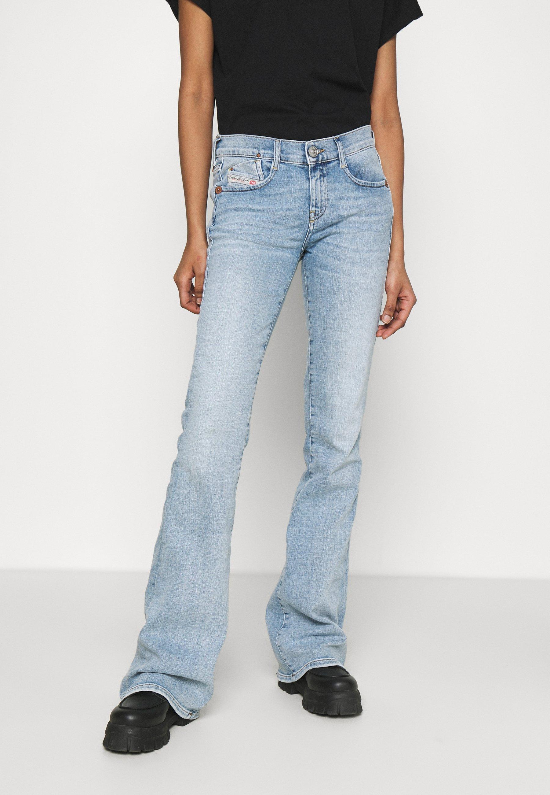 Women D-EBBEY-BS - Flared Jeans