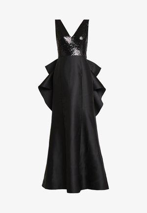 SEQUIN MIKADO GOWN - Vestido de fiesta - black