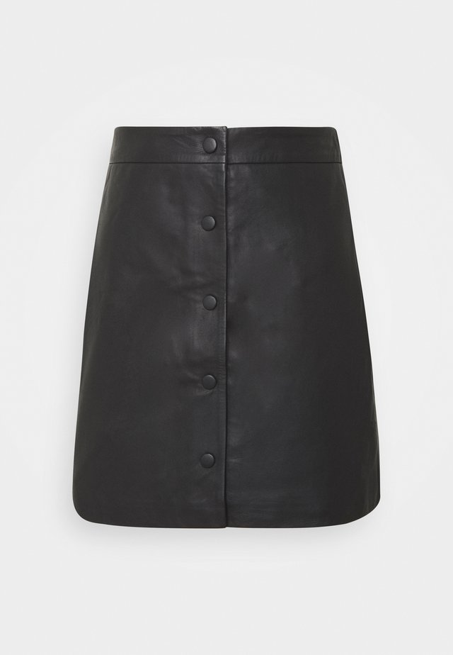 SLFALLY SKIRT - Falda de tubo - black
