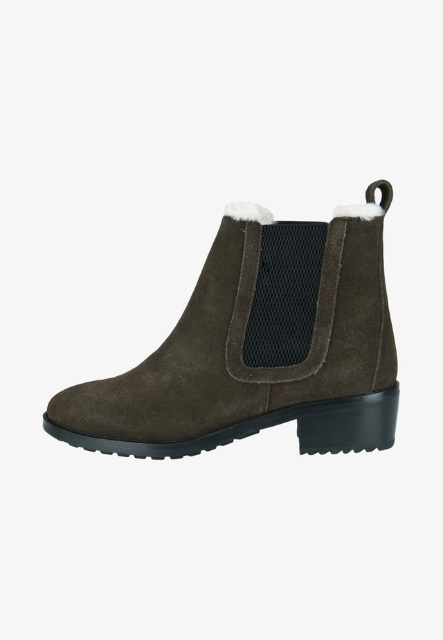 Winter boots - dark olive