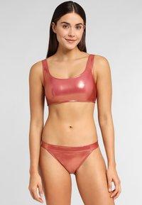 LASCANA - Bikini top - copper - 1