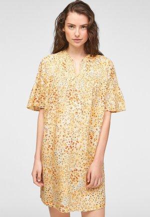 DE PLIS NERVURÉS - Day dress - sunlight yellow aop